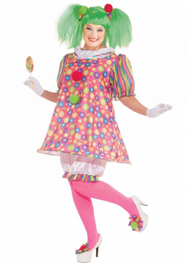 Plus Size Tickles the Clown Costume