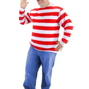 Plus Size Where's Waldo Costume