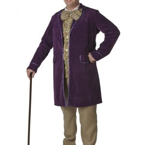 Plus Size Willy Wonka Costume