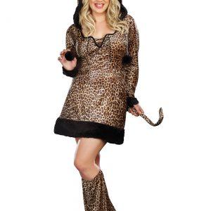 Plus Size Women's Cheetah-Licious Costume