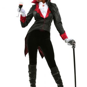 Plus Size Women's Dashing Vampiress Costume