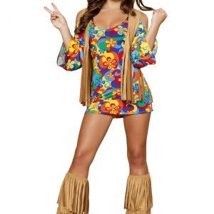 Plus Size Women's Hippie Hottie Costume