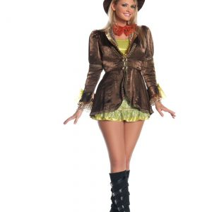 Plus Size Women's Marvelous Mad Hatter Costume
