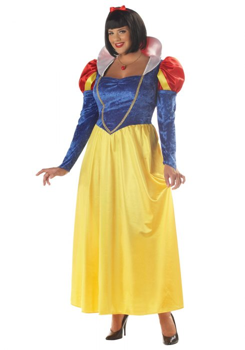 Plus Size Womens Snow White Costume
