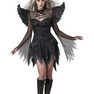 Plus Size Women's Sultry Fallen Angel Costume