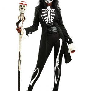 Plus Size Women's Voodoo Skeleton Costume