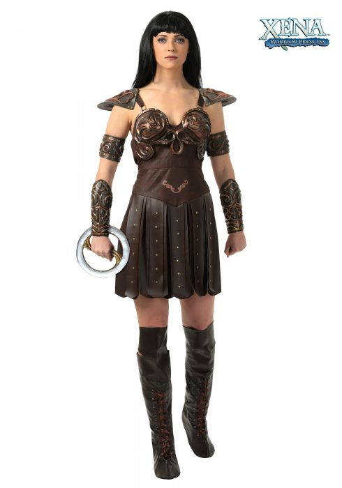 Plus Size Women's Xena Costume