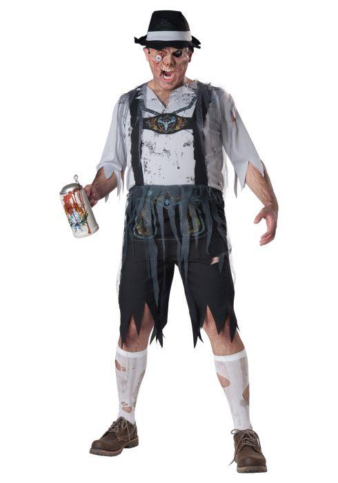 Plus Size Zombie OktoberFeast Costume