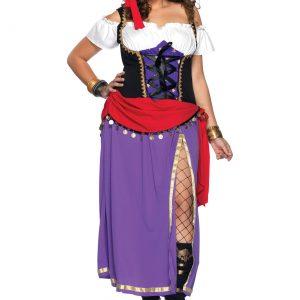 Plus Traveling Gypsy Costume
