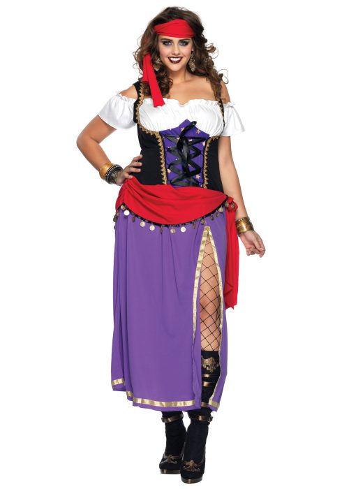 Plus Traveling Gypsy Costume
