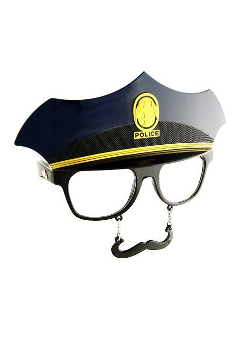 Police Mustache Glasses