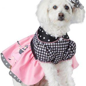 Poodle Skirt Dog Costume