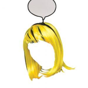 Pop Art Girl Wig