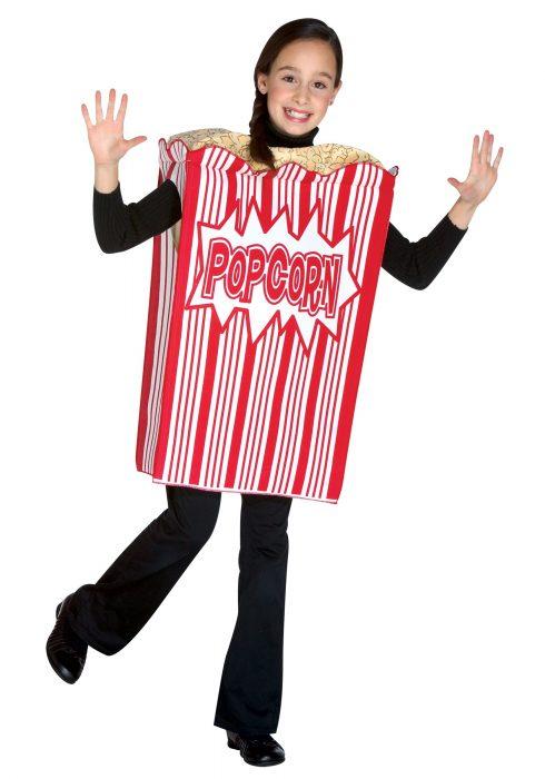 Popcorn Child Costume