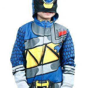 Power Rangers Dino Charge Blue Ranger Costume Hoodie