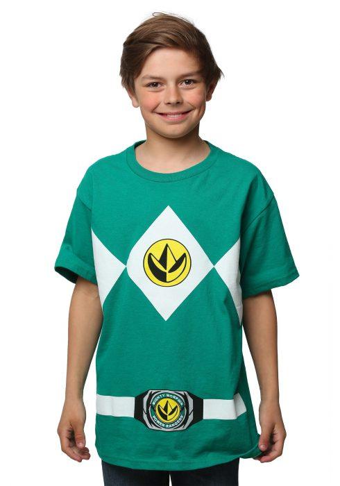 Power Rangers I am Green Ranger T-Shirt