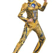 Power Rangers Movie Yellow Ranger Girls Deluxe Costume