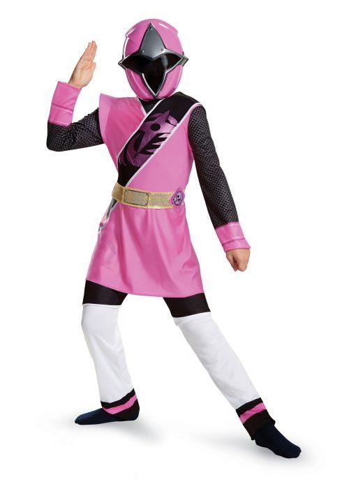 Power Rangers Ninja Steel Pink Ranger Girls Costume
