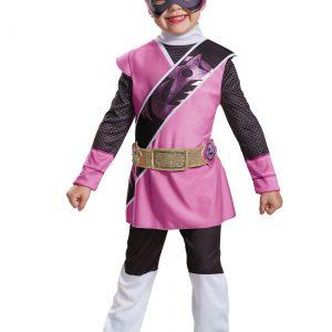 Power Rangers Ninja Steel Pink Ranger Toddler Muscle Costume