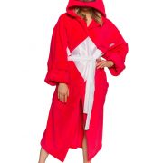 Power Rangers Red Ranger Hooded Robe w/ Mesh Mask