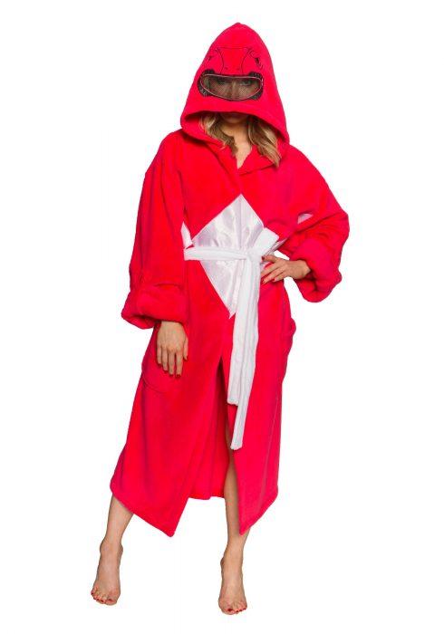 Power Rangers Red Ranger Hooded Robe w/ Mesh Mask