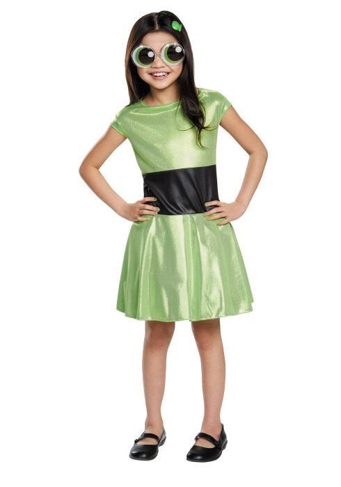 Powerpuff Girls Child Buttercup Costume