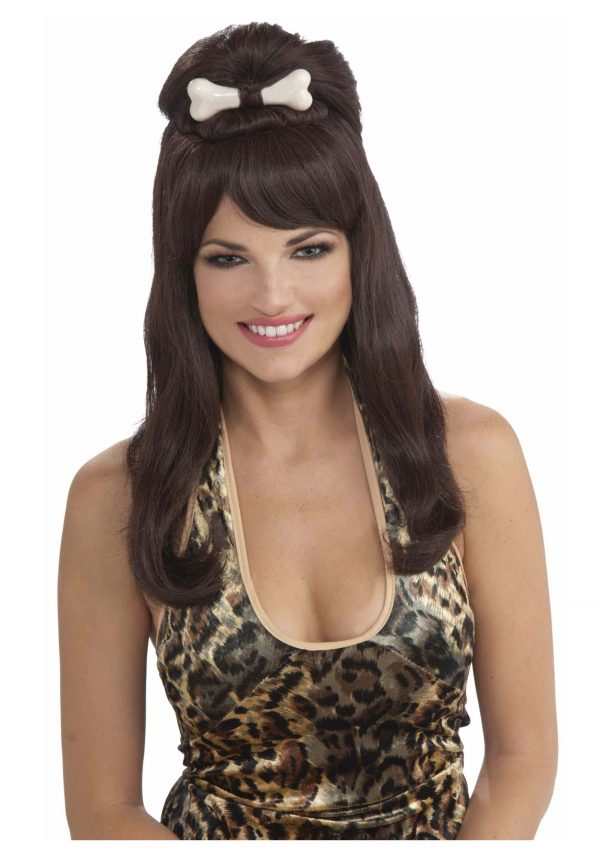 Prehistoric Brown Princess Wig