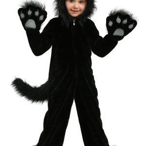 Premium Black Cat Kids Costume