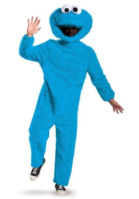 Prestige Plus Size Cookie Monster Costume