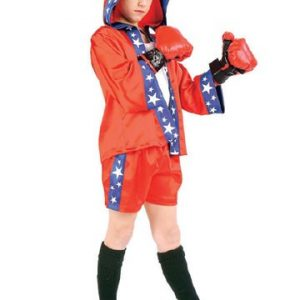 Preteen Boxing Champion Costume (Boy)