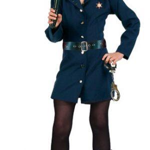 Preteen Policewoman Costume