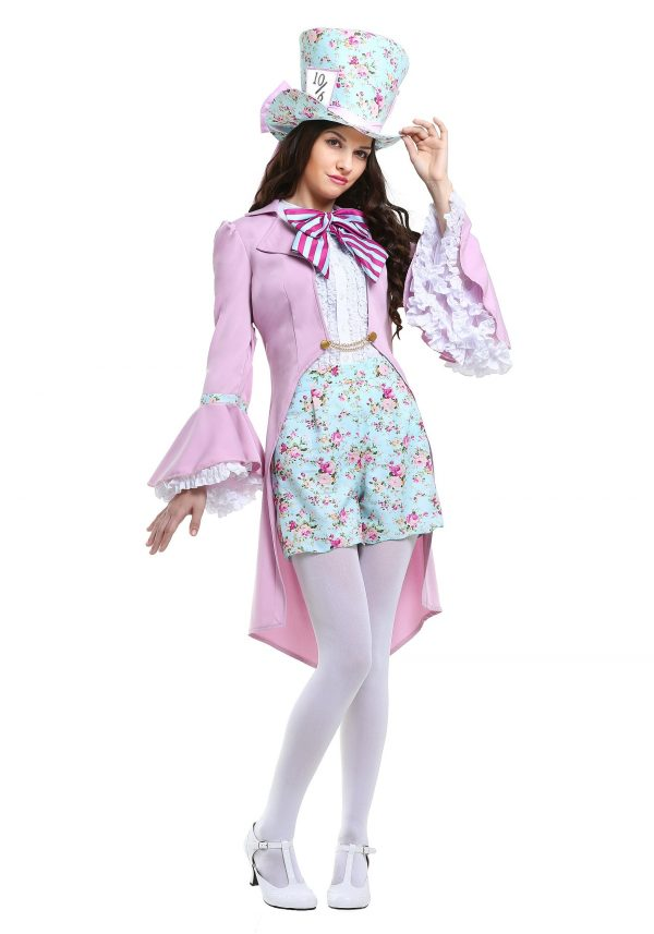 Pretty Mad Hatter Women's Costume