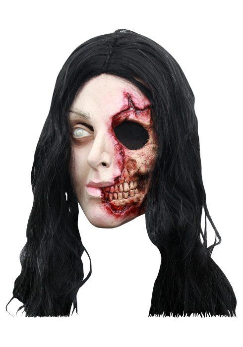 Pretty Zombie Woman Mask