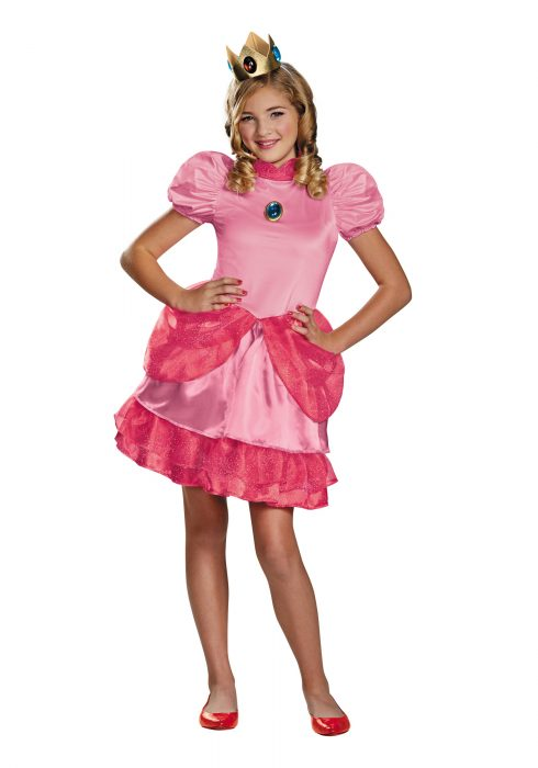 Princess Peach Tween Costume