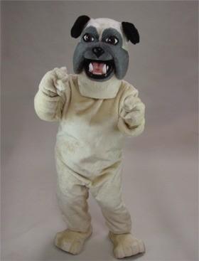 Pug Mascot Costume