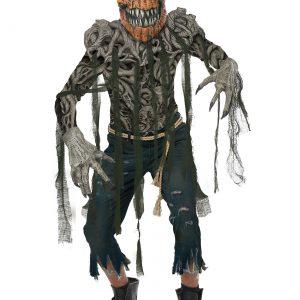 Pumpkin Head Mens Costume