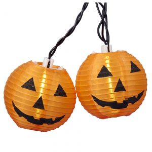Pumpkin Lantern Light Set