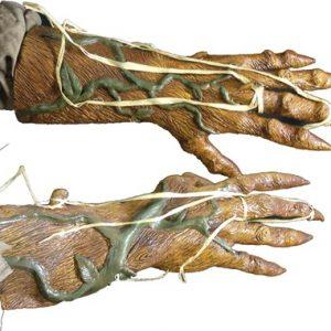 Pumpkin Rot Hands