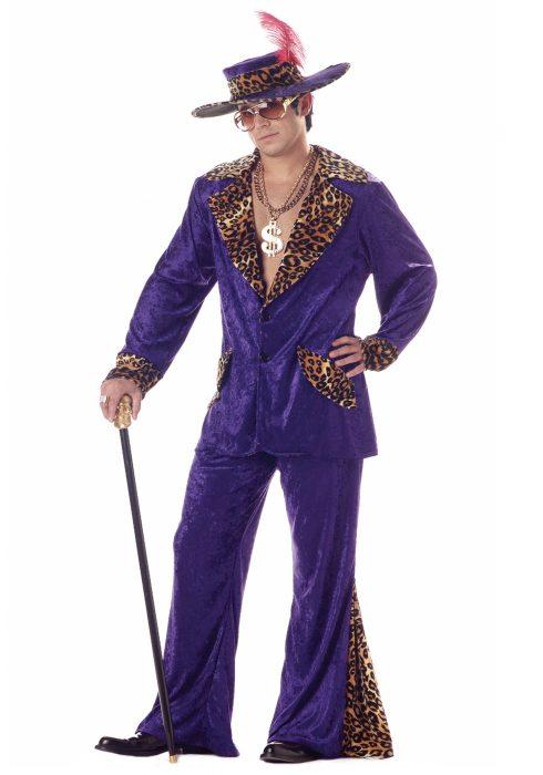 Purple Pimp Costume