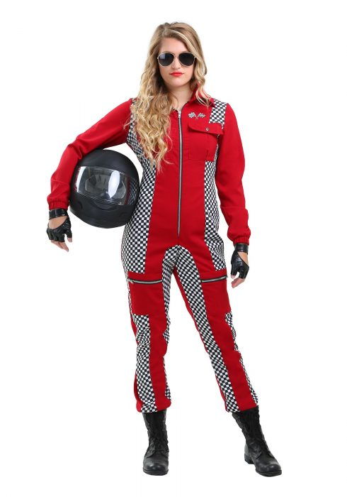 Racer Jumpsuit Plus Size Women's Costume