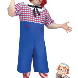 Raggedy Andy Adult Plus Size Costume