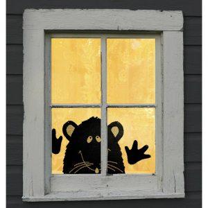 Rat Peek a Boo Window Treatment