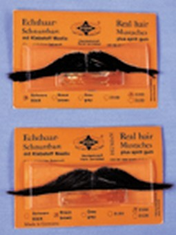 Real Hair Italian Mustache