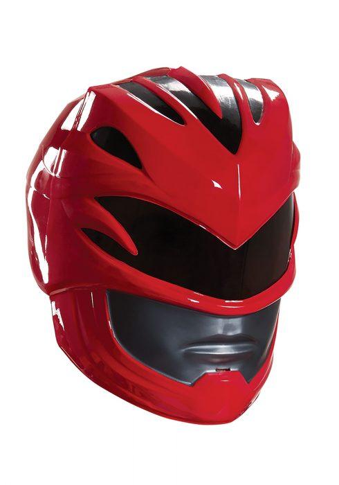 Red Ranger Movie Adult Helmet