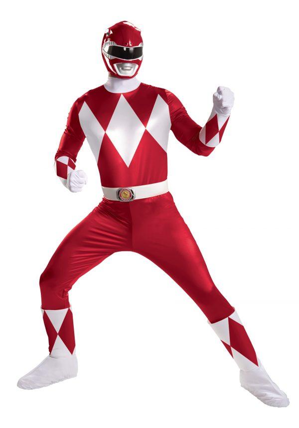 Red Ranger Super Deluxe Adult Costume