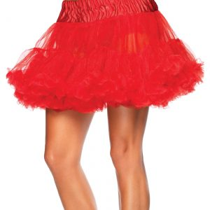 Red Tulle Petticoat