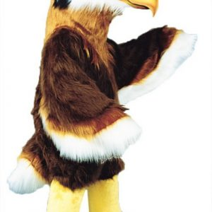 Regal Hawk Mascot Costume