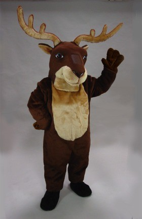 Remy Reindeer Mascot Costume