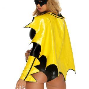 Reversible Black & Yellow Superhero Cape