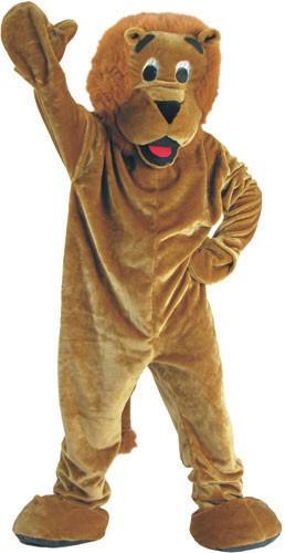 Roaring Lion Mascot Costume